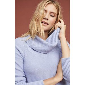 NWT Anthro Brenta Lavender Turtleneck Sweater XS